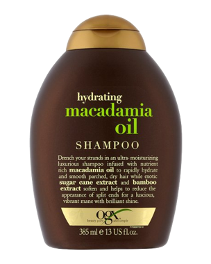 OGX Macadamia Oil Shampoo, 385ml