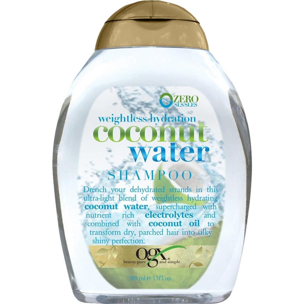 OGX Coconut Water Shampoo, 385ml