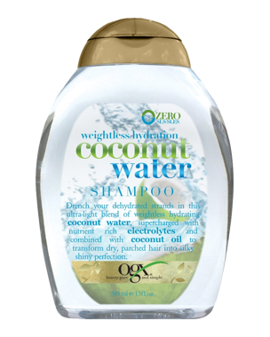 OGX Coconut Water Shampoo, 385ml