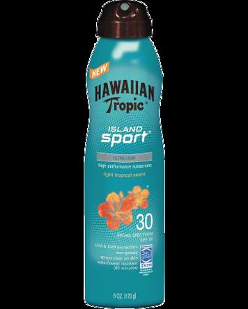 Hawaiian Tropic Island Sport SPF 30, 220ml