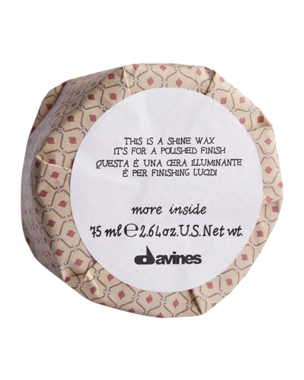 Davines More Inside This is a Shine Wax, 75ml