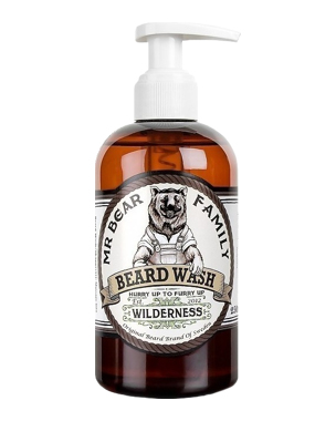 Mr. Bear Family Beard Wash Wilderness, 250ml