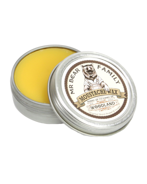 Mr. Bear Family Moustache Wax Woodland, 30g