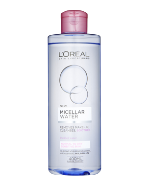 L'Oréal Micellar Cleansing Water Sensitive to Normal 400ml