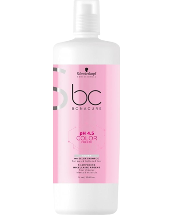 pH 4.5 BC Color Freeze Silver Micellar Shampoo 1000ml