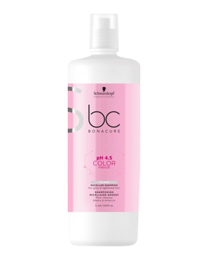 Schwarzkopf Professional pH 4.5 BC Color Freeze Silver Micellar Shampoo