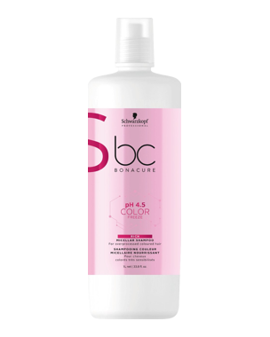 Schwarzkopf Professional pH 4.5 BC Color Freeze Rich Micellar Shampoo