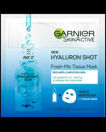 Garnier Fresh Mix Tissue Mask Hyaluron 1 PCS