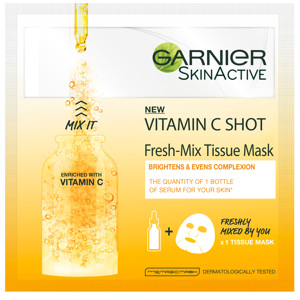 Fresh Mix Tissue Mask Vitamin C 1 PCS