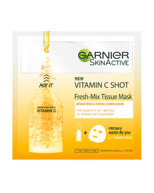Garnier Fresh Mix Tissue Mask Vitamin C 1 PCS