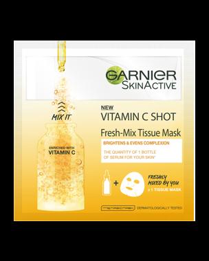 Garnier Fresh Mix Tissue Mask Vitamin C 1 PCS