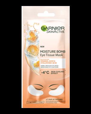 Garnier Eye Tissue Mask Orange 1 Pair