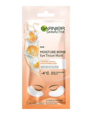 Garnier Eye Tissue Mask Orange 1 Pair
