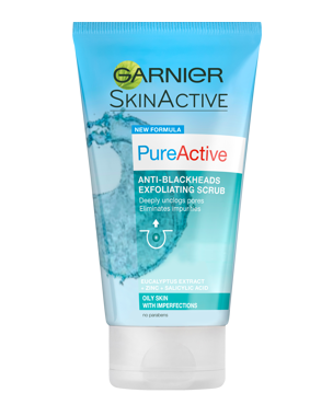 Garnier Pure Active Exfoliating Scrub 150ml