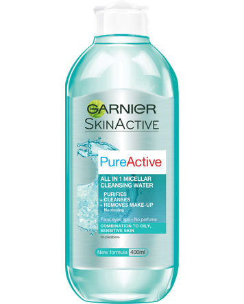 Garnier Pure Active Micellar Water 400ml