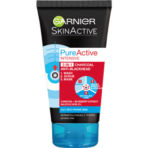 Pure Active 3in1 Charcoal 150ml