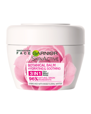 Garnier 3-In-1 Soothing Rose Balm (Dry Skin) 150ml