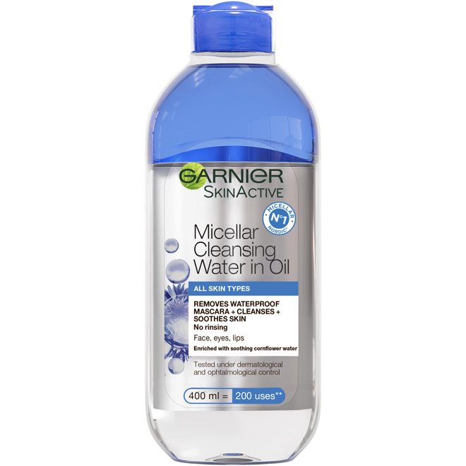 Micellar Water in Oil Delicate Blue 400ml