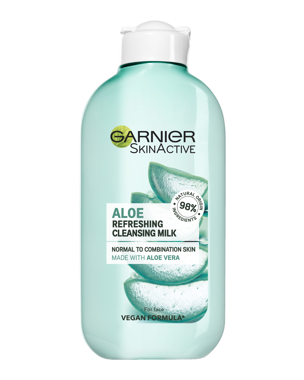 Garnier Cleansing Milk Aloe Vera (Norm/Comb Skin) 200ml