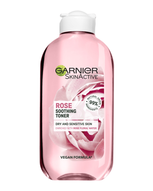 Garnier Toner Rose (Dry/Sensitive Skin) 200ml