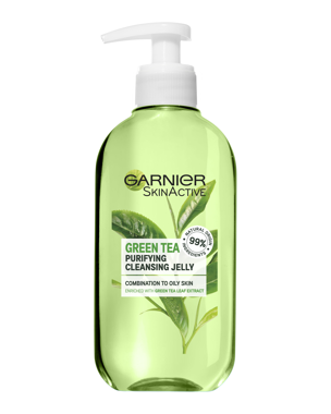 Garnier Gel Wash Green Tea (Comb/Oily Skin) 200ml