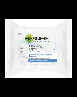Garnier Cleansing Wipes (Normal Skin) 25 PCS