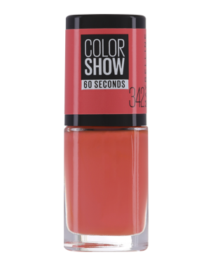 Color Show Nail Polish 7ml, Power Red