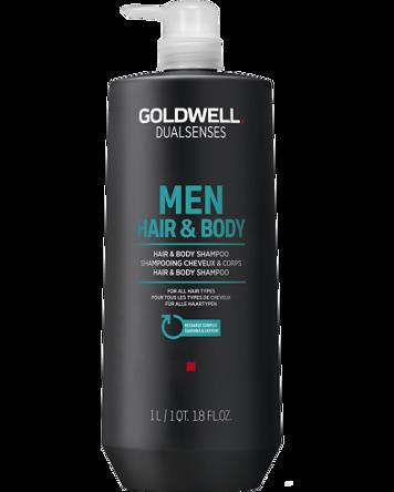 Dualsenses For Men Hair & Body Shampoo 1000ml