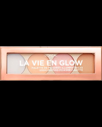 L'Oréal La Vie En Glow Highlighting Powder Palette