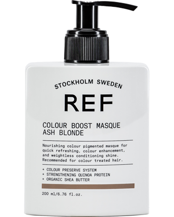 REF Colour Boost Masque Ash Blonde 200ml