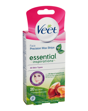 Veet Essential Inspirations Strips Face 20PCS