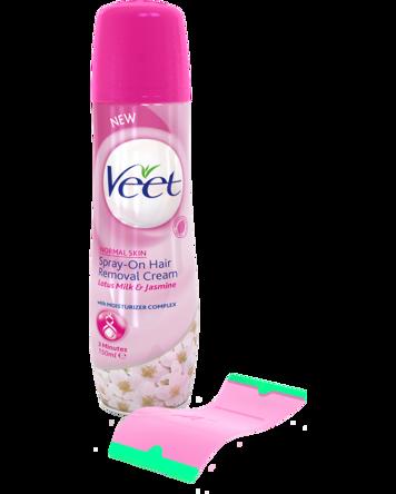 Veet Spray On Hair Removal Cream 150ml
