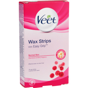 Cold Wax Strips Bikini & Underarm 16PCS