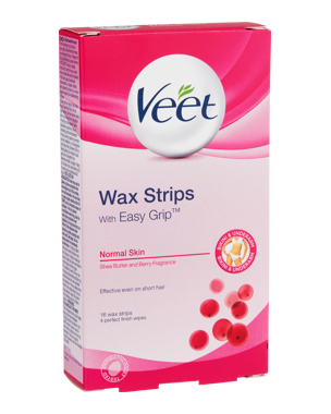 Veet Cold Wax Strips Bikini & Underarm 16PCS