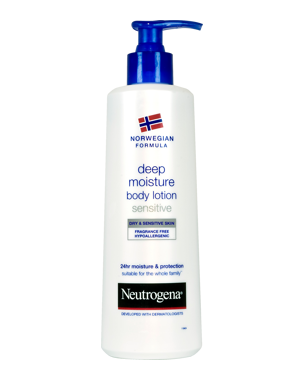 Neutrogena Norwegian Formula Sensitive/Dry Skin Body Lotion 250ml