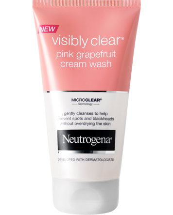 Neutrogena Visibly Clear Pink Grapefruit Cream Wash 150ml