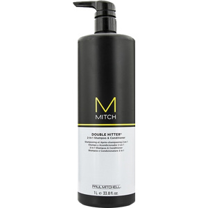 Mitch Double Hitter Shampoo & Conditioner 1000ml