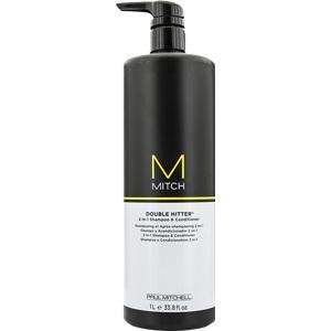 Mitch Double Hitter Shampoo & Conditioner 1000ml