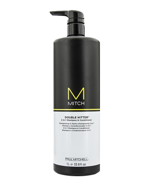 Paul Mitchell Mitch Double Hitter Shampoo & Conditioner 1000ml