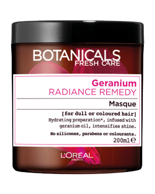 L'Oréal Botanicals Radiance Remedy Mask 200ml