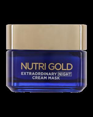 L'Oréal Nutri Gold Extraordinary Night Cream Mask 50ml