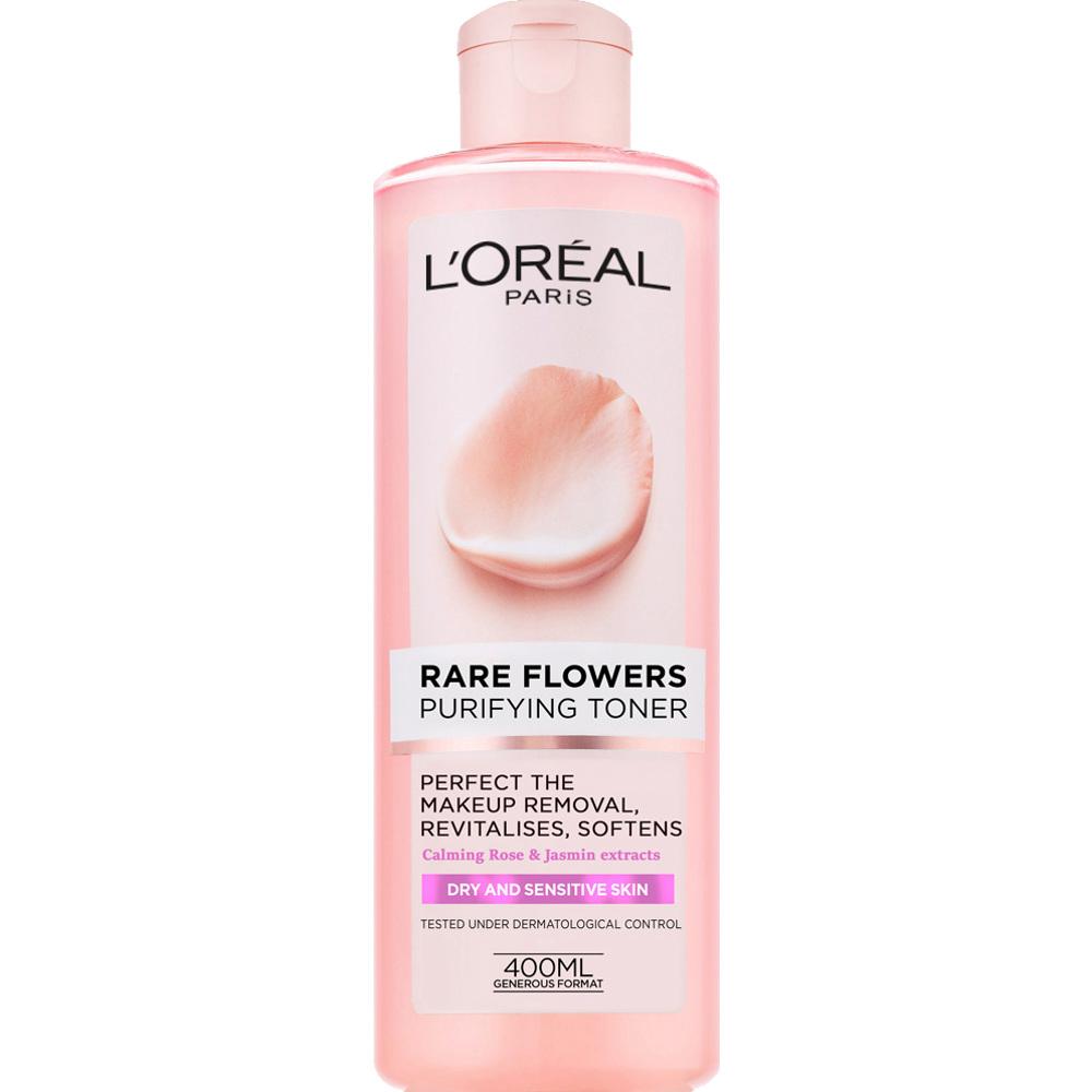 L'Oréal Rare Flowers Purifying Toner (Dry/Sensitive) 400ml