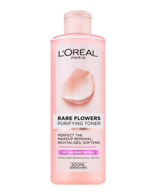 L'Oréal Rare Flowers Purifying Toner (Dry/Sensitive) 400ml