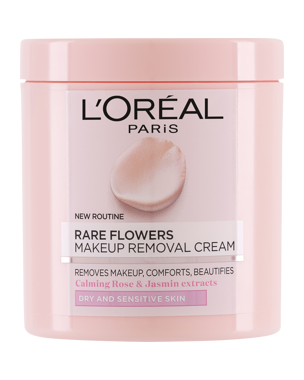 L'Oréal Rare Flowers Cleansing Cream (Dry/Sensitive) 200ml