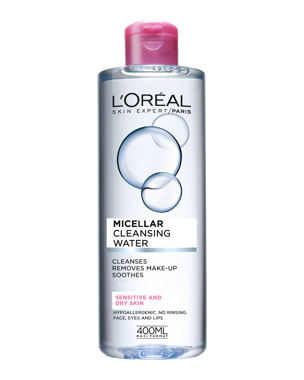 L'Oréal Micellar Cleansing Water (Sensitive/Dry) 400ml