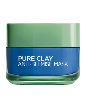 L'Oréal Pure Clay Anti-Blemish Mask (Blue) 50ml