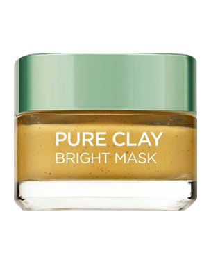 L'Oréal Pure Clay Bright Mask (Yellow) 50ml