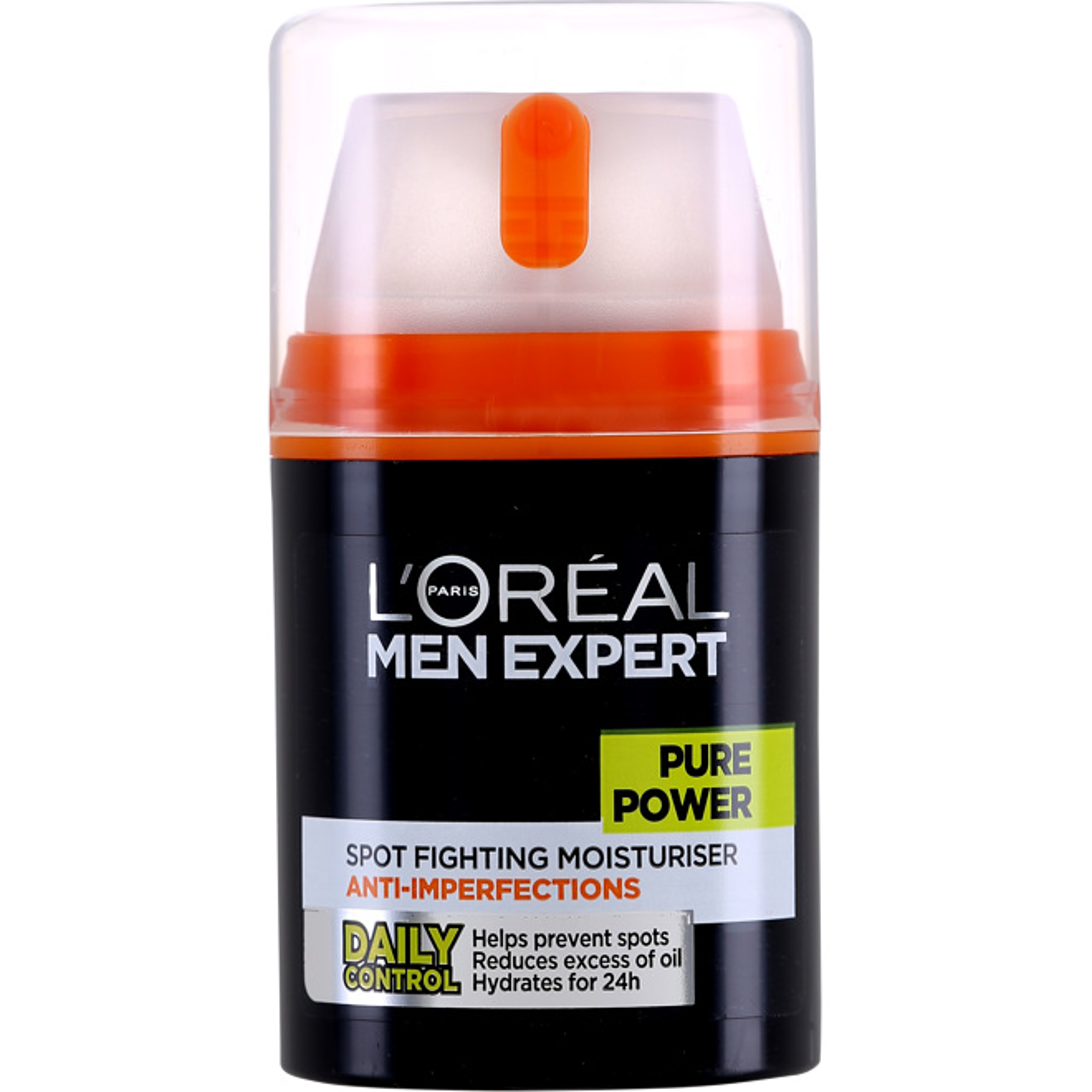 L'Oréal Men Expert Pure Power Anti-Breakout Moisturiser 50ml