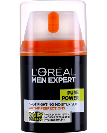 L'Oréal Men Expert Pure Power Anti-Breakout Moisturiser 50ml