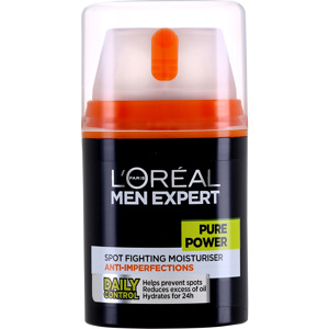 Men Expert Pure Power Anti-Breakout Moisturiser 50ml